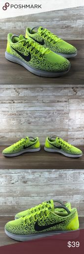 Nike Free RN Distance Men's Neon Yellow Running Nike Free RN Distance Men&#3…