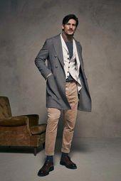 Die komplette Menswear-Modenschau von Brunello Cucinelli im Herbst 2018 jetzt auf Vogue Run … – Mens Fashion Sneakers