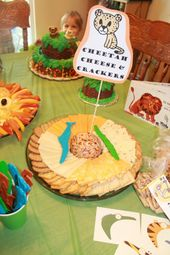 Cheetah Cheese And Crackers Other Food Decoration Ideas For A Zoo Party Tons Of On This Site