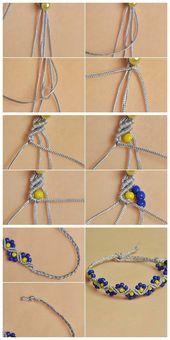 # Beebeecraft #stringmaterials #Nylon thread # braided beads # bracelet. – Yvet …