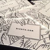 "Illustrator Business Card ""We're pumped to see Rich Tu and a ton of other brilliant artists at ADC Globa..."