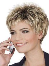 Penteados curtos chiques para mulheres com mais de 50 anos   – Frisur