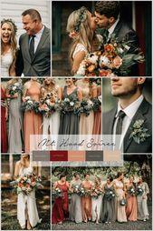Ein Floristentraum ist es, mit einer kräftigen Farbpalette wie dieser spielen zu können! …   – Wedding Theme Ideas