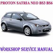 Proton Satria Neo Bs3 Bs6 2006 2015 Workshop Service Repair Manual Pdf Download Repair Manuals Electrical Wiring Diagram Protons