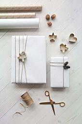 Atemberaubende Weihnachtsgeschenk Verpackungsideen