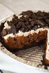 Chocolate Oreo Pie – Dies ist kein Diätfutter – Nur Desserts – #Chocolate #D …   – Torten