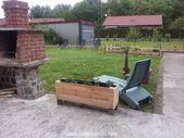 DIY Pallet Planter / Garden Ideas