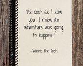 The Adventure Begins – Adventure Notebook – Adventure Journal – Friendship Journal – Love Journal – Travel Journal – Compass Notebook