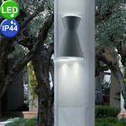 LED ALU outdoor light house door wall lighting UP DOWN spotlight garden lamp …   – Beleuchtung