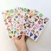 Animal Crossing Sticker Pack – Nintendo Stickers – Cute Animal Crossing Stickers – Cute Video Game Stickers – Cute Sticker Sheets – Cartoon