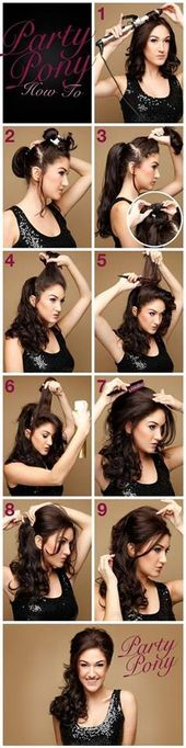 Latest Trends Best Party Hairstyles Tutorial Step by Step Ideas & Looks #Hairstyles #Newest #party #step #trends