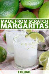 Die beste frische Margarita von Grund auf neu