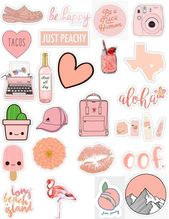 Peach sticker pack # sticker #peach – # sticker #macbook #pack