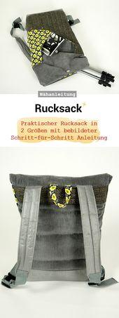 Baby Carrier Out now: Rucksack Nähanleitung und Schnittmuster in 2 Größen