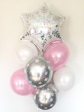 Baby It's Cold Outside Baby Shower Decor | Winter Baby Shower | Snowflake Balloons | Winter ONEderland Birthday Balloons  – halloween ideas
