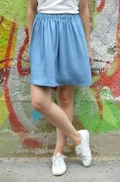 Quick skirt with elastic – The perfect beginner model for beginners