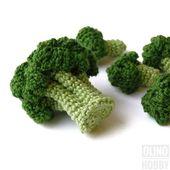 BROCCOLI Crochet Pattern PDF – Crochet broccoli pattern Amigurumi broccoli Crochet Vegetable pattern Crochet food pattern Play Food Broccoli