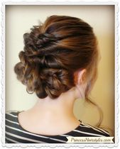 Prom & Wedding Hairstyle! Romantic Updo With Twists & Braids