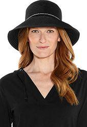 Coolibar upf 50+ women's audrey ribbon bucket hat – sun protective – Products