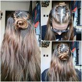 Красивые плетеные прически для длинных волос