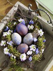 Tolle Ostern Deko f  r Ihr Zuhause    #deko #für #ihr #Ostern #tolle #zuhause…