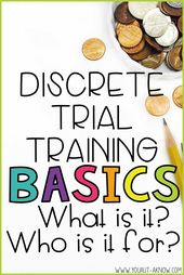 Discrete Trial Fundamentals: What Is Discrete Trial Coaching? Who's it for
