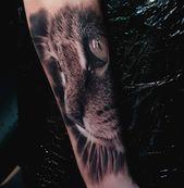 Etwas für #catlovers #cat #catsofinstagram #cattattoo #cattoos Powered b …