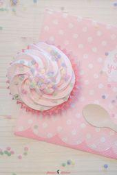 Confetti cupcakes for children's birthday