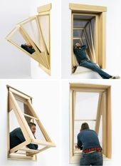 Die Architektin Aldana Ferrer Garcia hat Fenster geschaffen, die es den Bewohnern erlauben, in