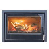 Mendip Christon 750 – 8.7kw Defra Inset Wood Burning Stove