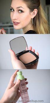 Herbst Make-up Look: Red Lips Bronzer und das beste Fixing Spray. , Bilden .. …   – Rote lippen
