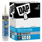 Dap Dynaflex 230 10 1 Oz Almond Premium Indoor Outdoor Sealant 12 Pack Brown Indoor Outdoor Home Depot Black Doors