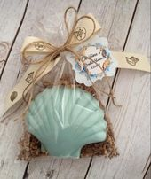 Beach, Ocean Theme, Sea Shell, Ocean Soap, Birthday, Wedding or Bridal Shower Favor