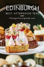 The place to search out one of the best afternoon tea, Edinburgh