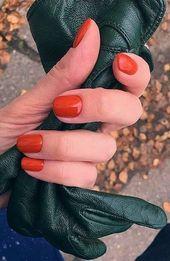 Attraktive Nail Designs Ideen, die so perfekt für den Herbst 2019 sind 25   – Nagel Ideen (X)