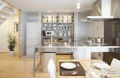 Simple Open Plan Home Generating Equilibrated Small Spaces by Muji