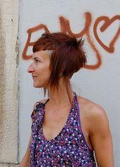 Schneide – scharf, kurz und lang! – Cooler Rotschopf – Trend Frisuren – Frisuren – Neu Frisuren