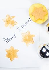 Making Christmas cards with children: 5 quick ideas + video  – ♥ Mama Kreativ ♥