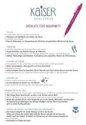 Checklist for the childbed – Schwangerschaft