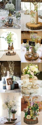20 kreative DIY Weinflasche Hochzeit Mittelstücke für Ihren großen Tag  wedding ceremony centerpiece concepts