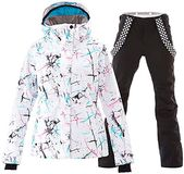 New Mous One Women's Waterproof Ski Jacket Colorful Snowboard Jacket  Bib Pant Suit online shopping – Prettyclothingstyle