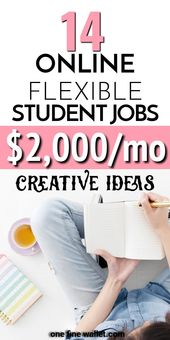 16 Online Jobs for College Students {2019 Edition}