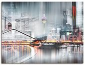 "Photo of Artland Art Print Poster ""Nettesart: Düsseldorfer Collage Skyline 17"" | OTTO"