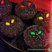 Grusel, Daemonen Muffins für eine Mottoparty, Halloween