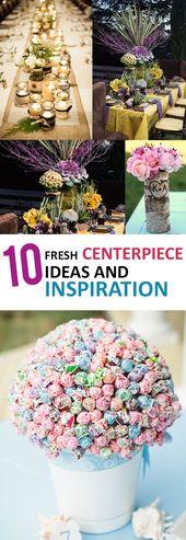 10 Fresh Centerpiece Ideas and Inspiration