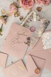 Invitations  Hochzeitseinladung