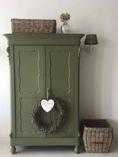 Dusty Olive – Olivgrün – Wie man sie kombiniert – Tipps und Tricks – Botan   – upcycling möbel