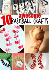 10 Awesome Baseball Crafts for Kids