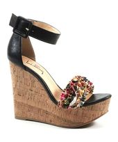 15d58b24f6b4 Pierre Dumas Tan Fever Crisscross Platform Sandal ( 22) ❤ liked on Polyvore  featuring shoes