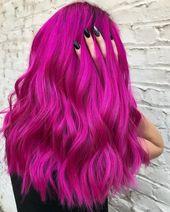 Die lebendigsten Haarfarben, die diesen Winter noch im Trend sind #dieses #ha …   – Frisuren und Farben